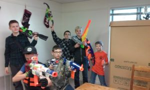 NERF War @ Casssadaga Branch Library | Cassadaga | New York | United States