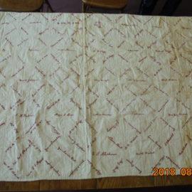 1912 Stockton Quilt Restoration Project